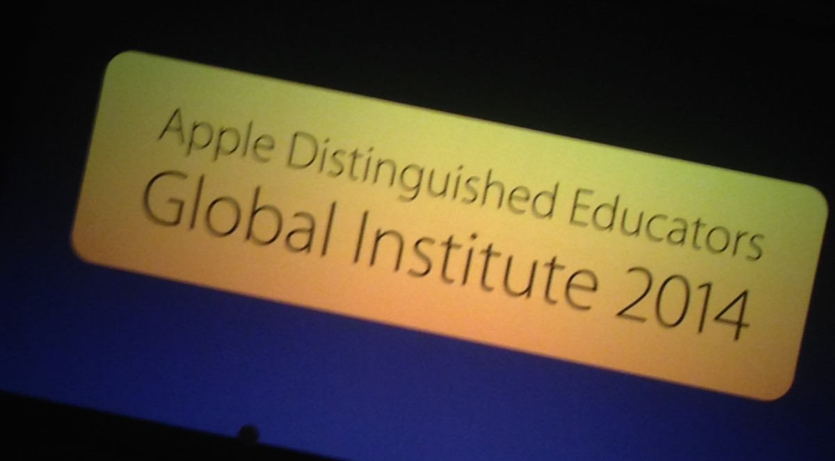 Apple Distinguished Educators Global Institute reflection and call to action.