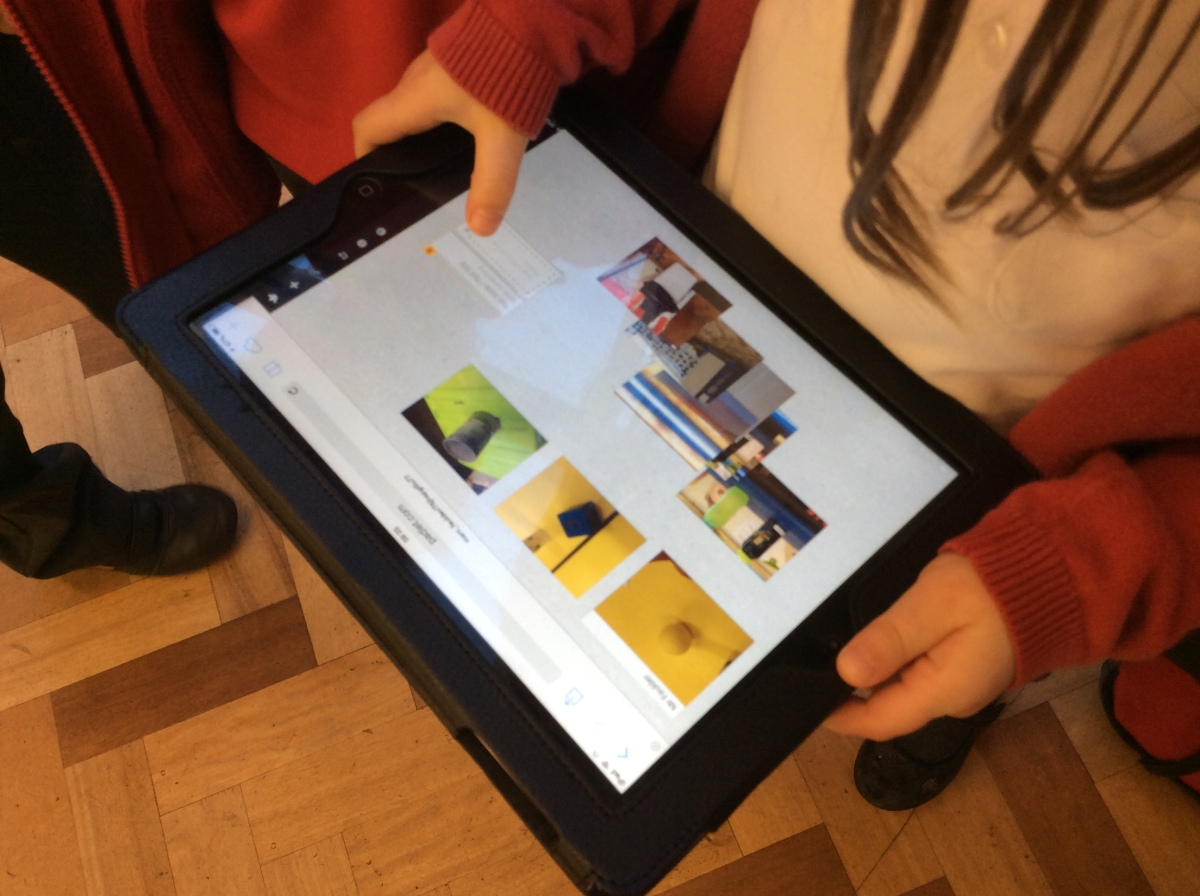 Enhance Early Understanding of Shape with iPad and Padlet